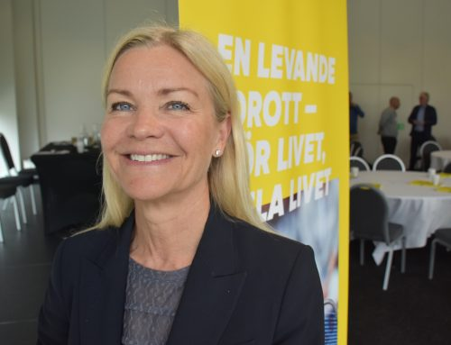 Första kvinnliga ordföranden i SvTF:s styrelse