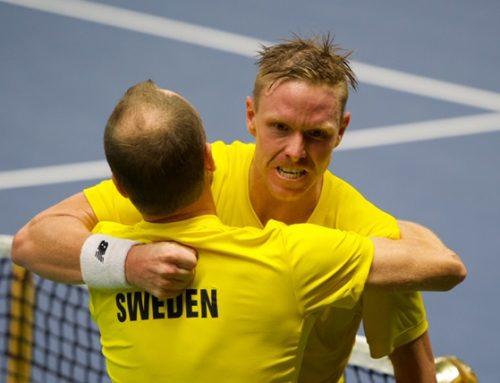 Davis Cup: Sverige i bra utgångsläge