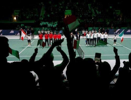 Davis Cup-slutspelet igång i Madrid