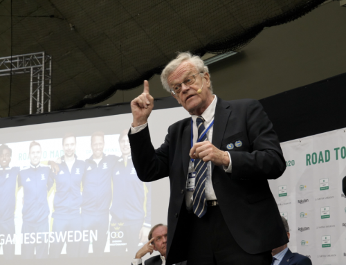 """Svensk tennis back in business"""