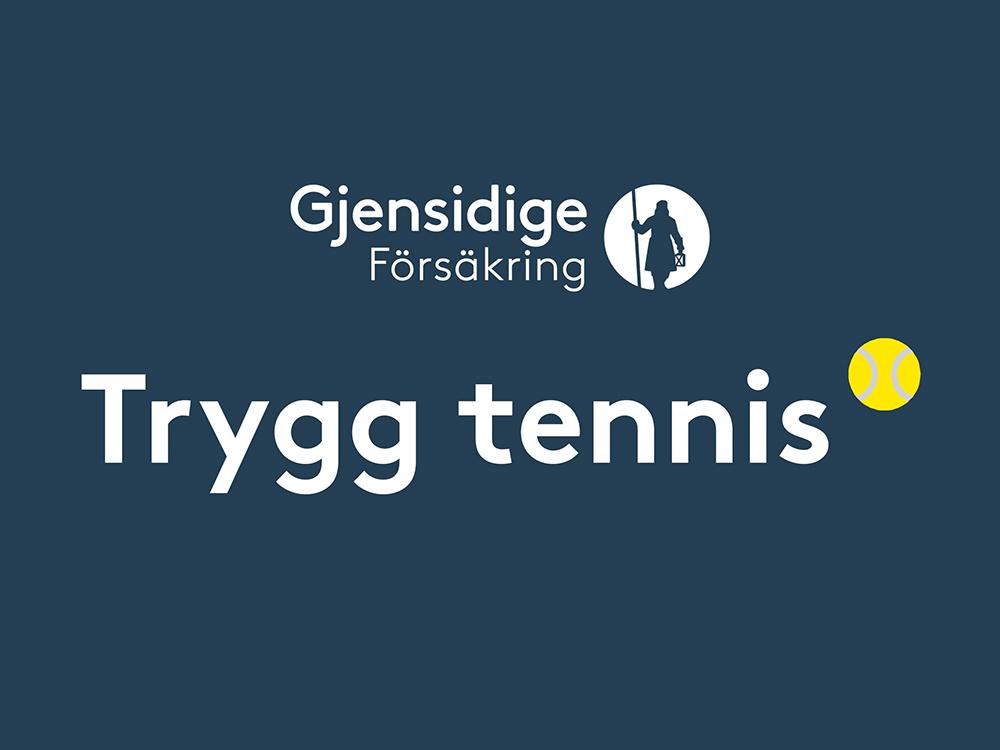 Trygg tennis Gjensidige